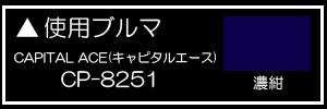 CAPITAL ACE(キャピタルエース) CP-8251濃紺
