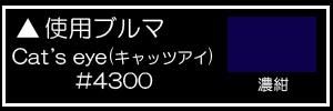 Cat's eye(キャッツアイ) #4300濃紺
